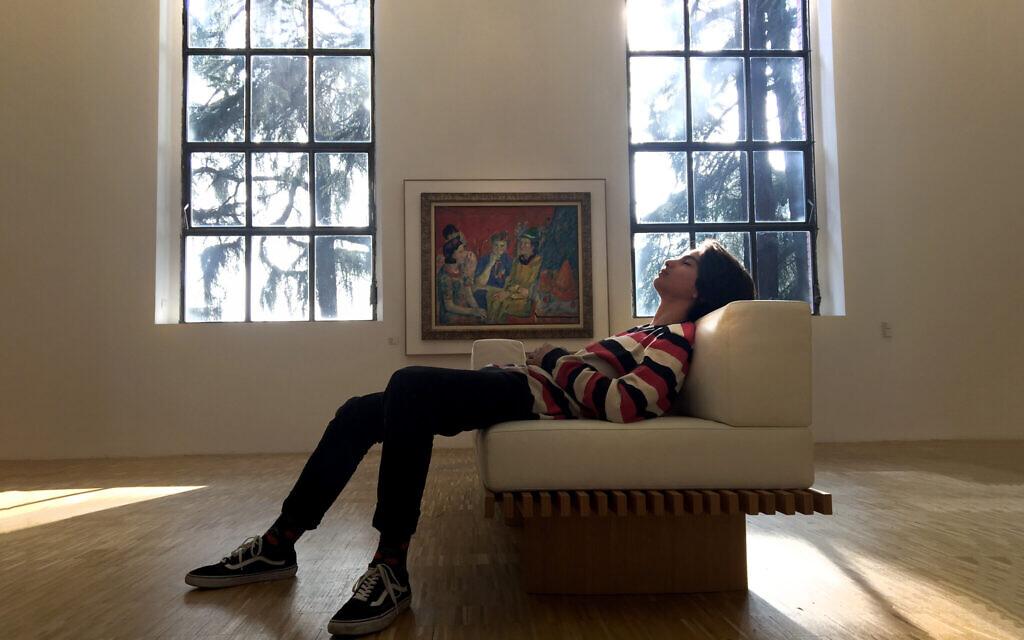 Ari Nesher at the Triennale di Milano, Milan, Italy, 2017. (Iris Nesher)