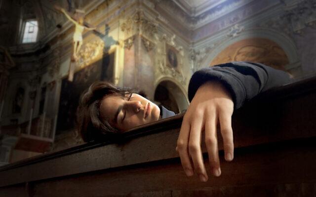 Ari Nesher at the Basilica di Santa Maria Maggiore, Rome, Italy, 2017. (Iris Nesher)