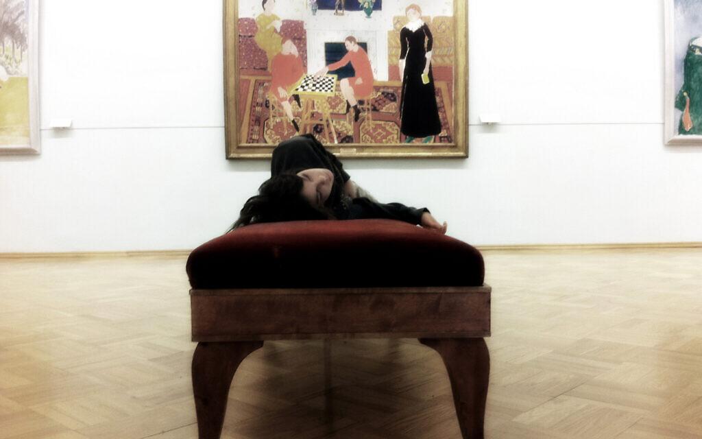Ari Nesher at the Hermitage Museum. St. Petersburg, Russia, 2010. (Iris Nesher)