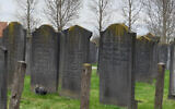A Jewish cemetery in Haarlem, the Netherlands, March 8, 2019. (Cnaan Liphshiz via JTA)
