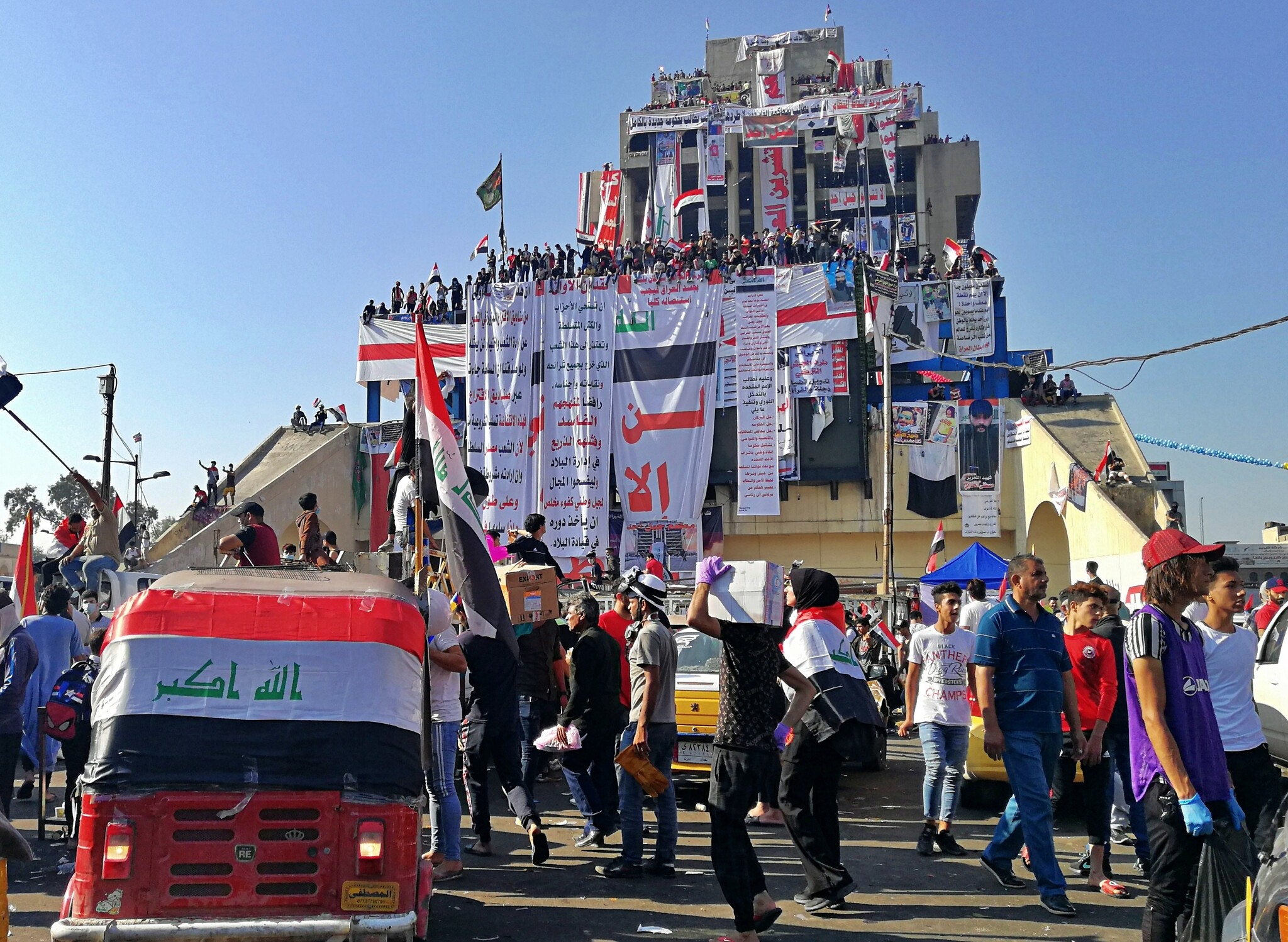 Iraqis focus anger on Iran, as they defy crackdown to hold biggest protests  yet | The Times of Israel