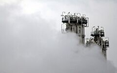This January 15, 2011, file photo, shows a part of Arak heavy water nuclear facilities, near the central city of Arak, 150 miles southwest of the capital Tehran, Iran (Mehdi Marizad/Fars News Agency via AP)