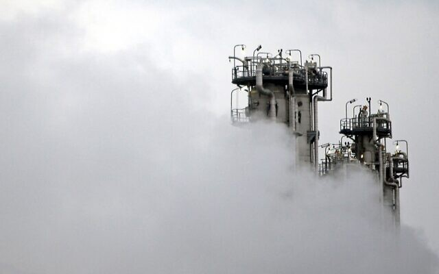 This January 15, 2011, file photo, shows a part of Arak heavy water nuclear facilities, near the central city of Arak, 150 miles southwest of the capital Tehran, Iran (Mehdi Marizad/Fars News Agency via AP)