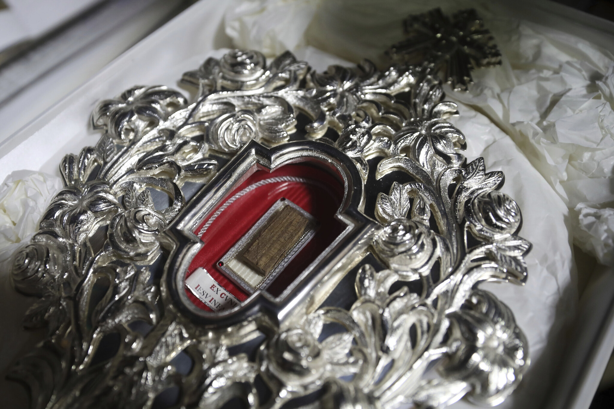 Pope Francis Sends A Relic Of Jesus' Manger To The Holy Land