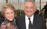 Financier and philanthropist Sandy Weill, right, and wife Joan attend the Metropolitan Opera season opening night gala performance at Lincoln Center on Monday, Sept. 22, 2008 in New York. (AP Photo/Evan Agostini)