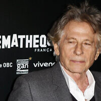 "FILE - In this Oct. 30, 2017 photo director Roman Polanski poses during a photo call to the screening of ""Based on a true story"" in Paris, France. (AP Photo/Francois Mori)"