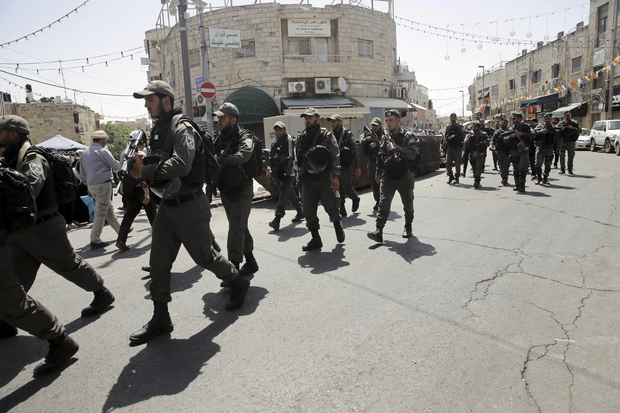Five Border Police charged with assaulting, robbing Palestinians