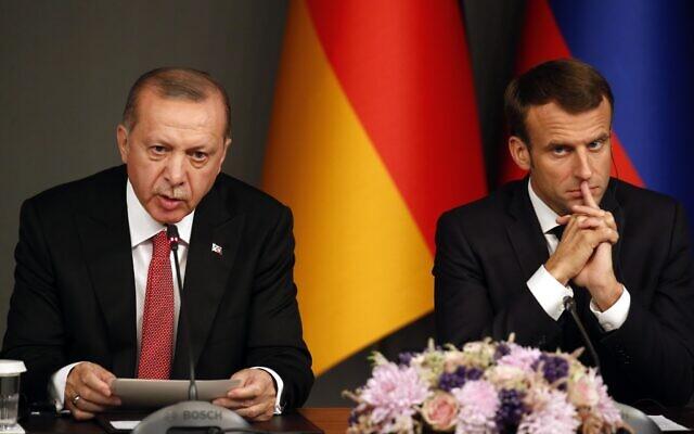 """""""Сам без мозгов"""": Эрдоган ответил Макрону про НАТО"""