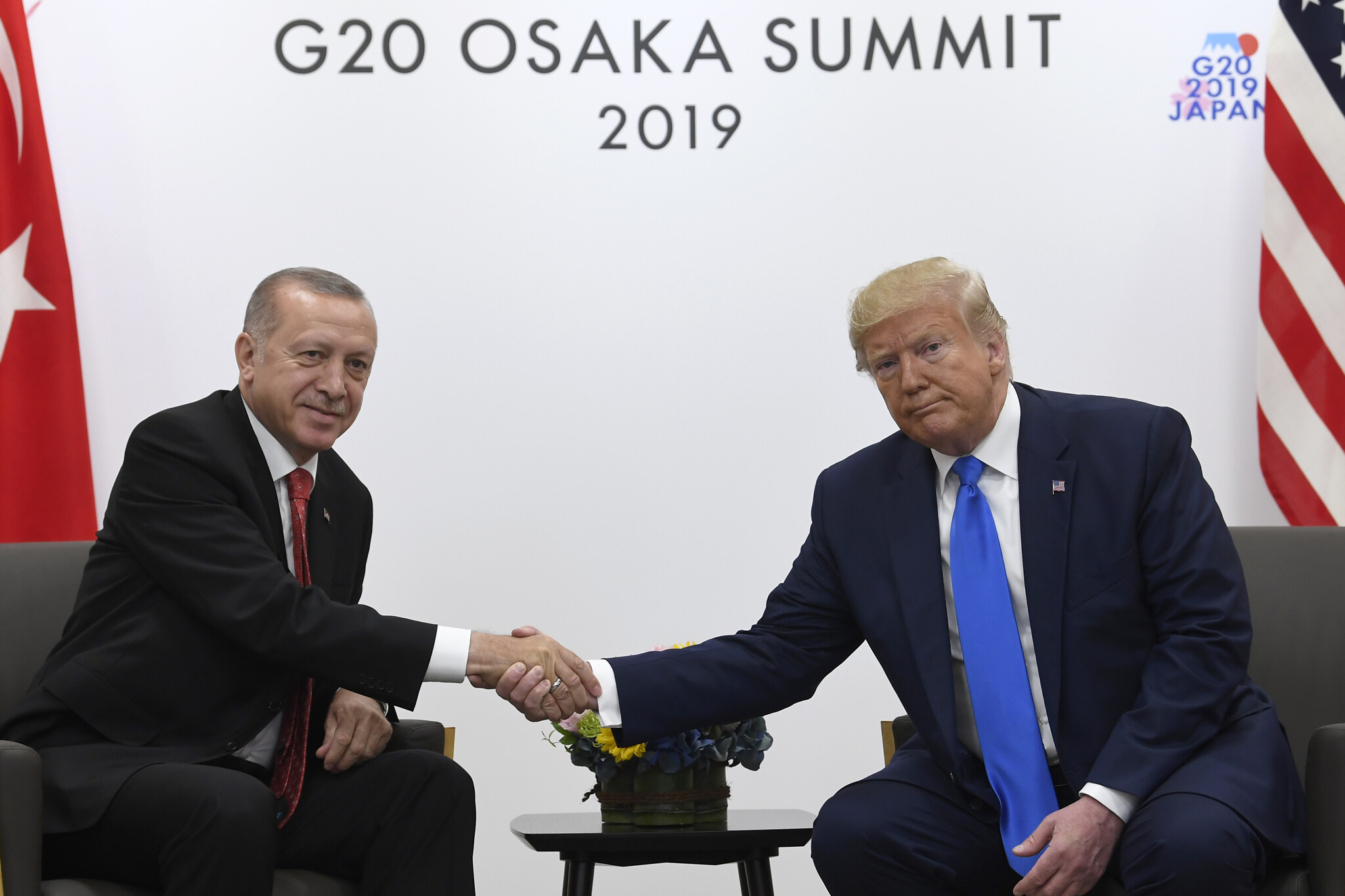 Trump Meets Turkish President Erdogan, Stresses Common Ground on ISIS, Trade