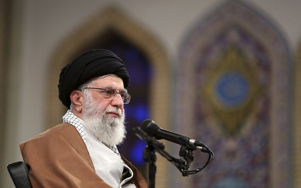 Khamenei: When Iran speaks of wiping out Israel it refers to regime, not Jews