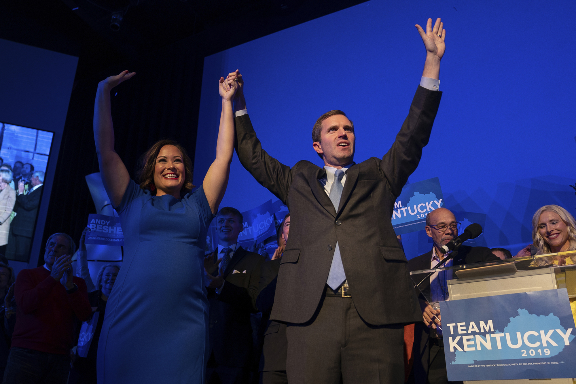 In Kentucky And Virginia, A Strong Night For Democrats In Off-Year Elections