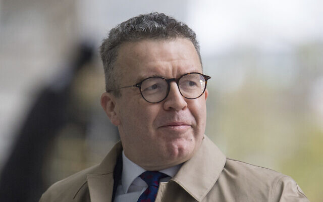 In this file photo dated March 31, 2019, Tom Watson, Britain's main opposition Labour Party Deputy Leader seen in London.  In an announcement Wednesday Nov. 6, 2019, Watson has said he will not be seeking re-election in the forthcoming Dec. 12, General Election, and is stepping down as deputy leader of the Labour Party. (Dominic Lipinski/PA FILE via AP)