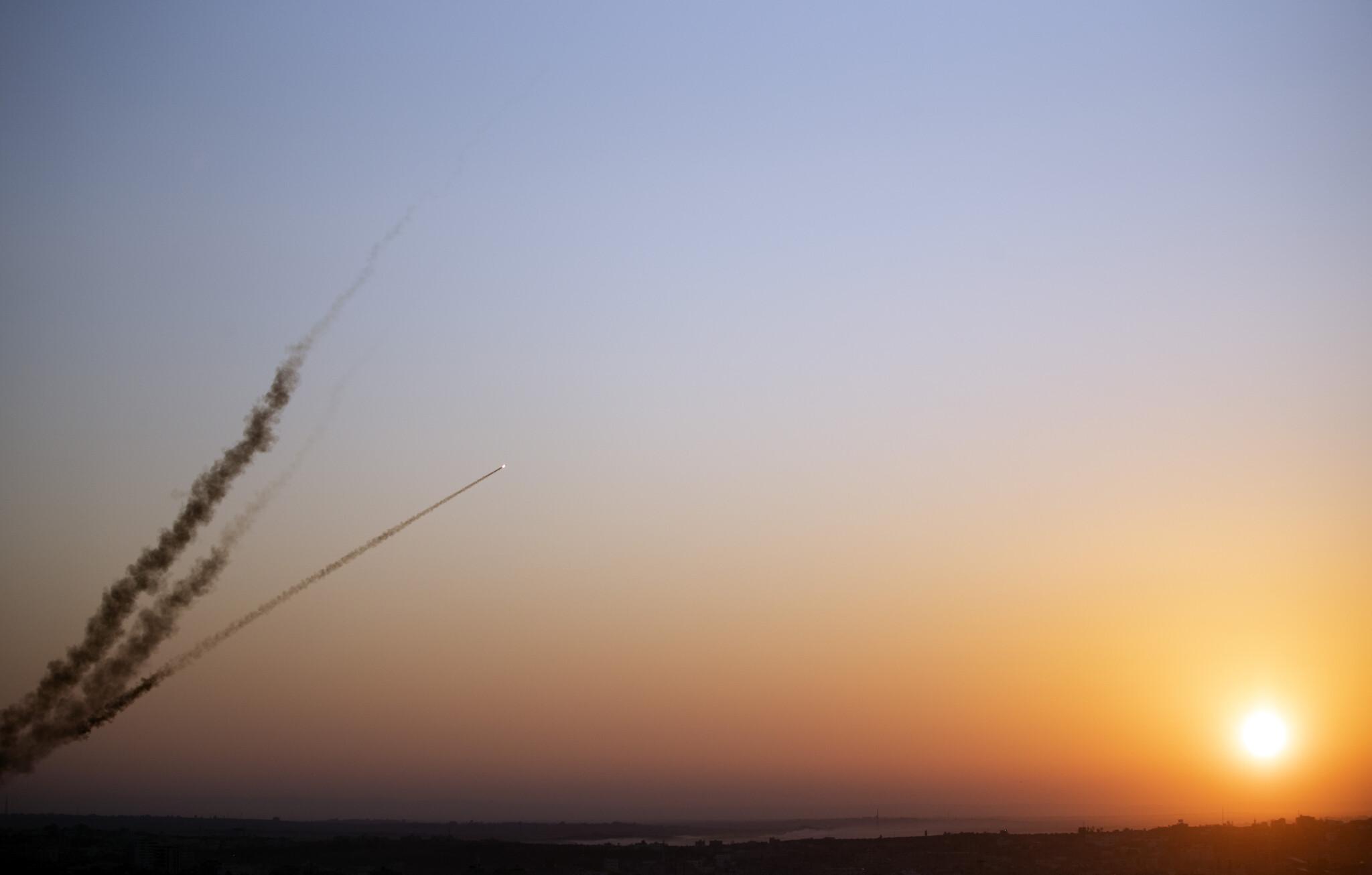 Risultato immagini per gaza rockets