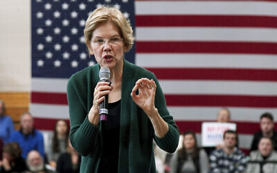 Democratic presidential candidate Sen. Elizabeth Warren of Massachusetts speaks at a campaign stop in Manchester, New Hampshire, November 23, 2019. (/Mary Schwalm/AP)