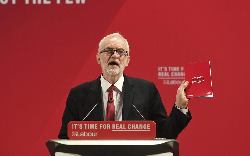 Corbyn decries anti-Semitism as 'vile and wrong' following chief rabbi's rebuke