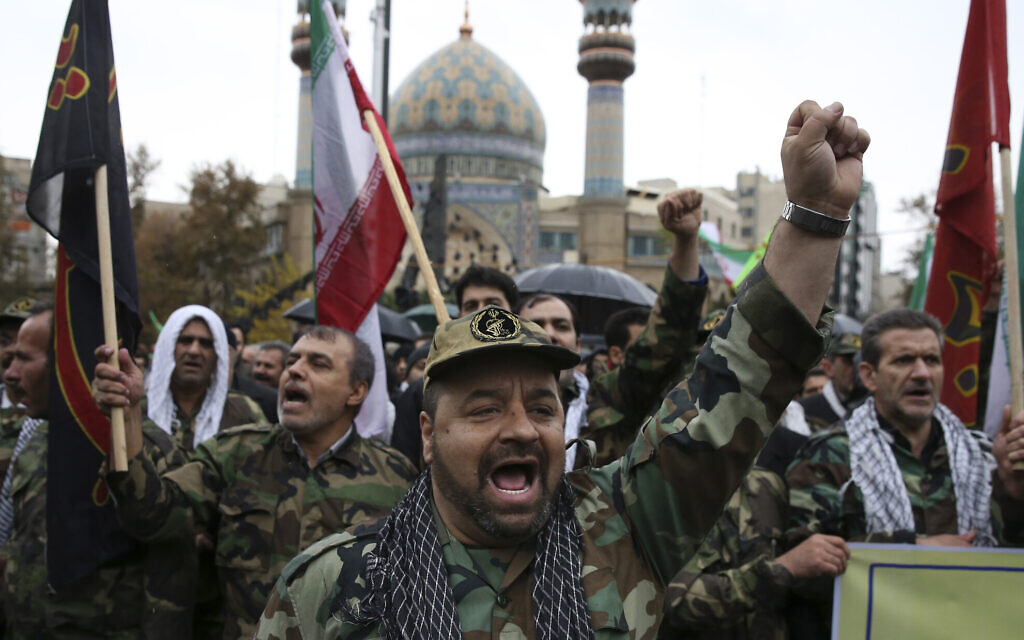 After Iran protests, feared security force says 'world war' on nation failed