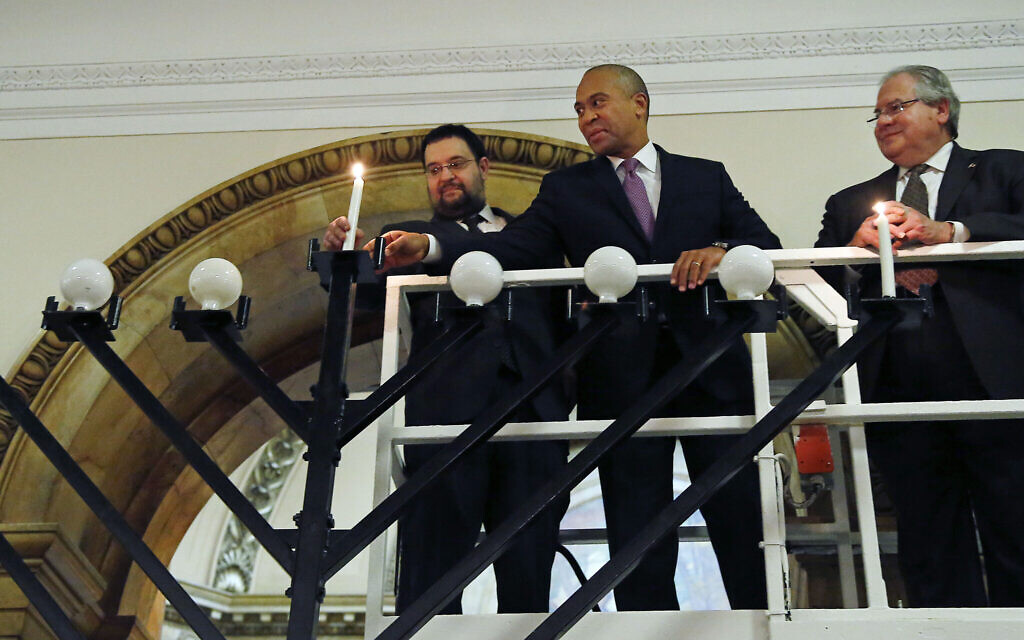 5 Jewish things to know about new Democratic challenger Deval Patrick