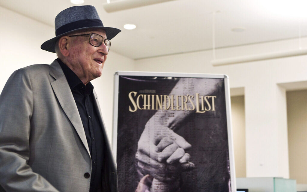 Croatian Holocaust Survivor Who Produced Schindler S List Dies At 87 The Times Of Israel