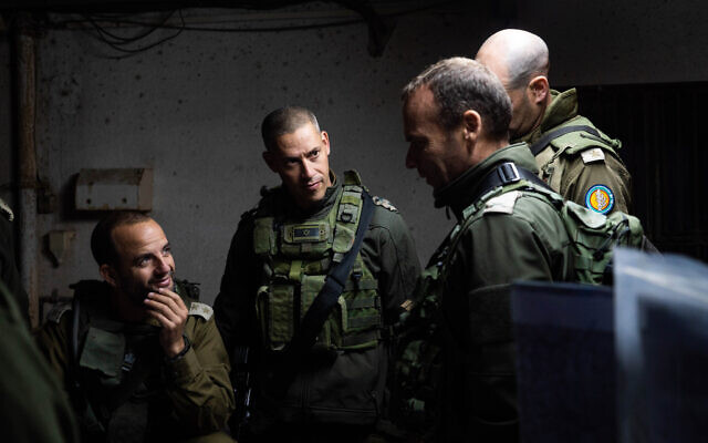 Soldiers from the IDF Northern Command take part in a surprise exercise in northern Israel in November 2019. (Israel Defense Forces)