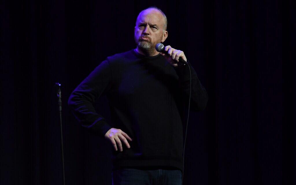 Comedian Louis C.K. performs in Tel Aviv on November 23 (Courtesy: Moran Paz)