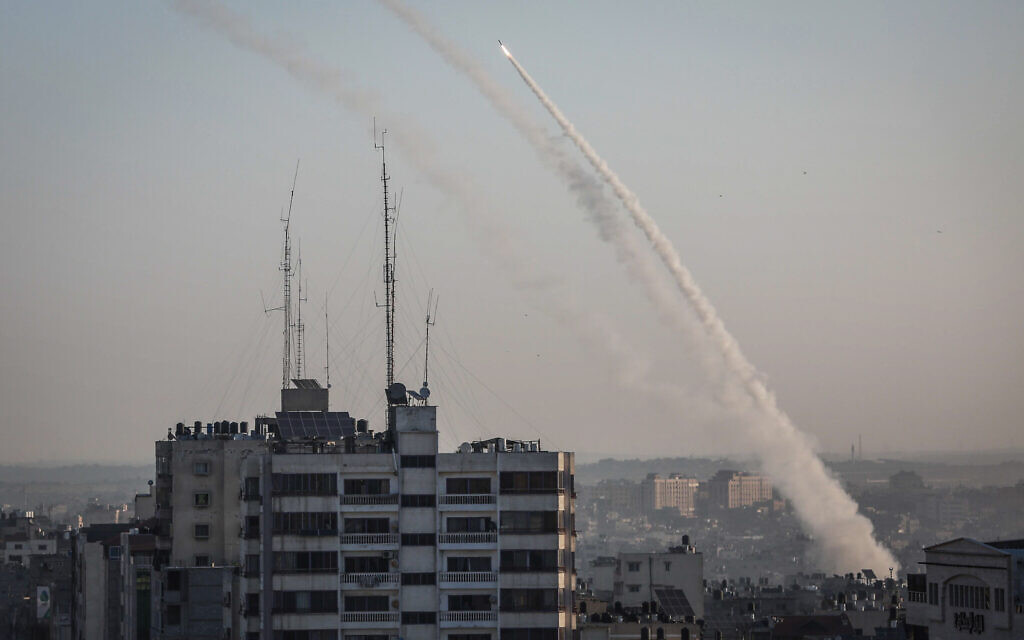 Gaza rocket hit Palestinian Human Rights Commission office in Strip – report