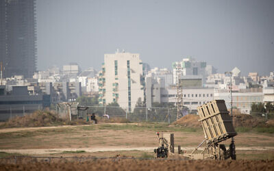 Israel targets Hamas sites after rocket fire