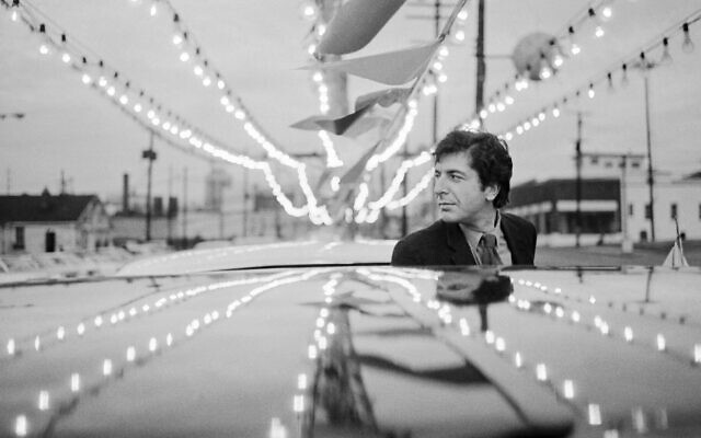 Leonard Cohen in Nashville in 1968. (Tony Vaccaro/Getty Images/JTA)