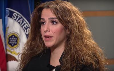 Sahar Nowrouzzadeh (YouTube screenshot)