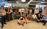 ObserveIT's team in Israel (Yair Grindlinger)