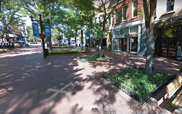 Pearl Street Mall, Boulder, Colorado. (Google Street View)