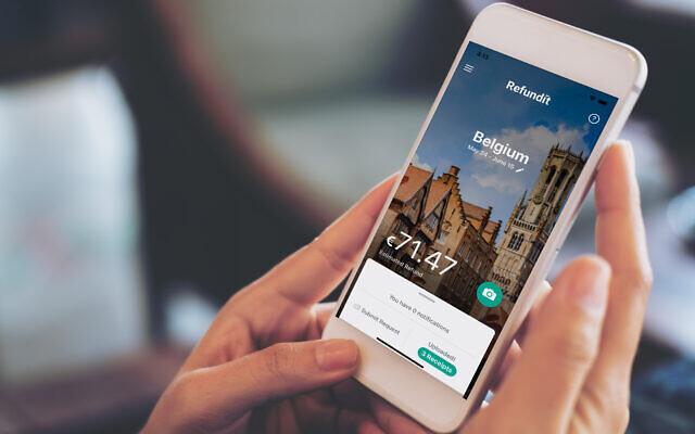 Израильский стартап «Refundit» возвращает туристам  НДС через мобильное приложение и привлекает $9,8 млн. гиганта туристических технологий Amadeus