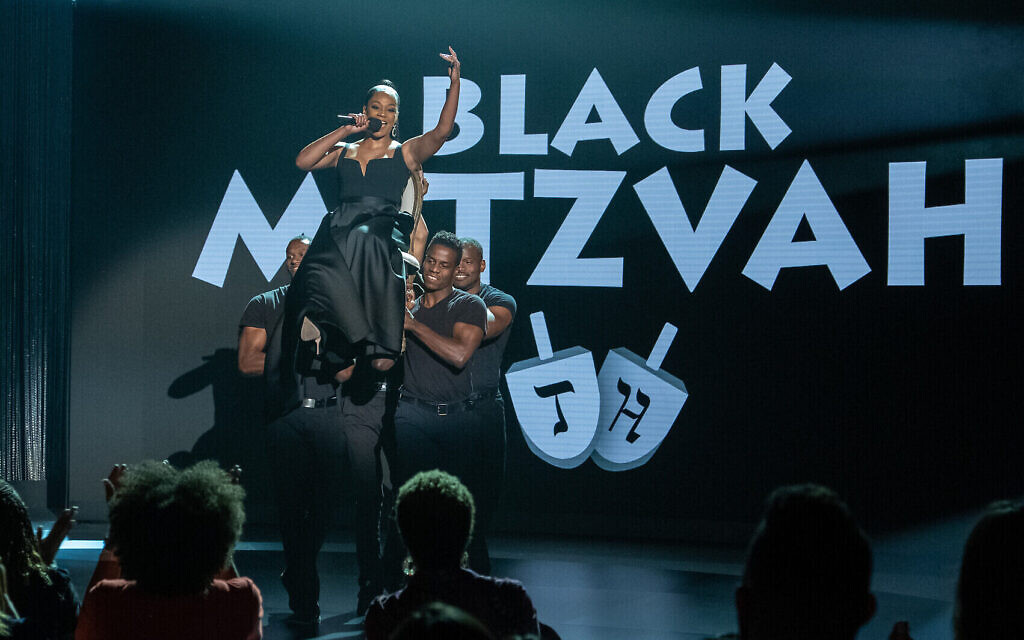 Tiffany Haddish in her 2019 Netflix comedy special, 'Black Mitzvah.' (Courtesy Netflix)