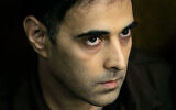 Yigal Amir, the convicted assassin of Prime Minister Yitzhak Rabin, seen during a court hearing in Tel Aviv, November 1, 2007. (AP Photo/Ariel Schalit)