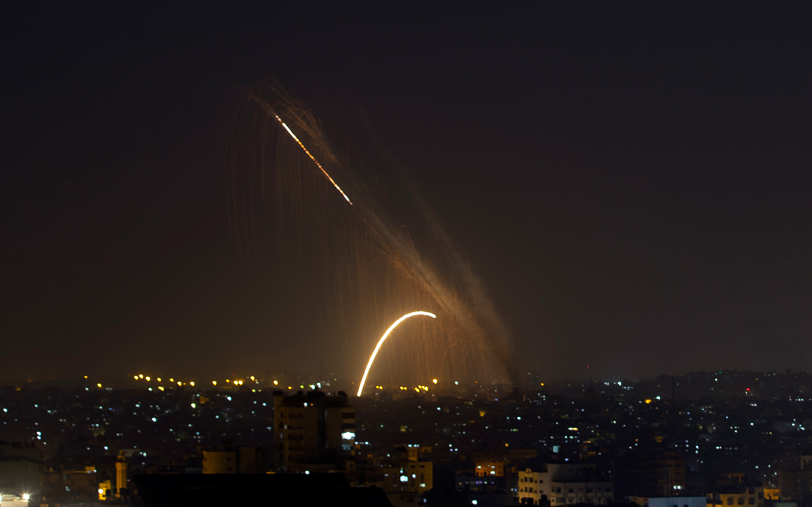 Renewed rocket fire into Israel jolts tenuous Gaza truce