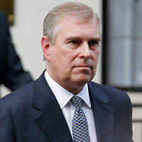 Illustrative: Britain's Prince Andrew in London, June 6, 2012. (AP Photo/Sang Tan)