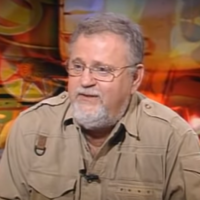 Dr. Giora Praff during a 2012 interview with Channel 1. (Screenshot: YouTube)