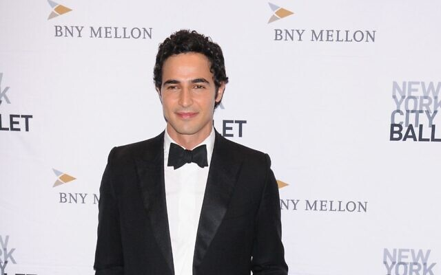 Fashion designer Zac Posen attends the NYC Ballet Fall Fashion Gala held at Lincoln Center in New York City on September 26, 2019. (Efren Landaos/SOPA Images/LightRocket via Getty Images)