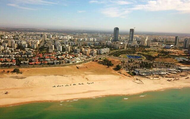 The Ashdod coastline. (Ashdod Municipality)