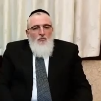 El Al Airlines chief rabbi Yohanan Hayut (YouTube screenshot)