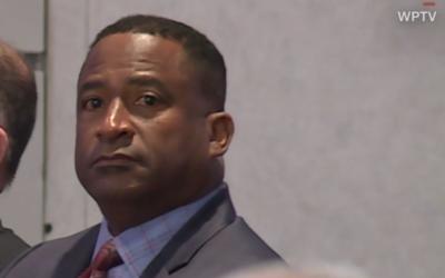 Palm Beach County School principal William Latson, October 31, 2019. (WPTV Screen grab via CNN)