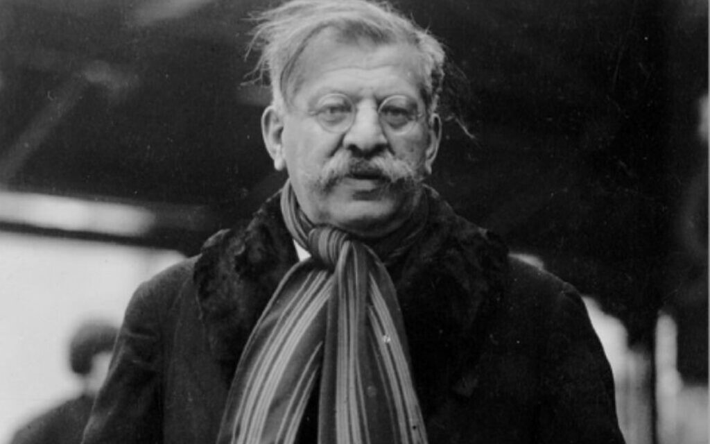 Magnus Hirschfeld in New York City, early 1930s (public domain)