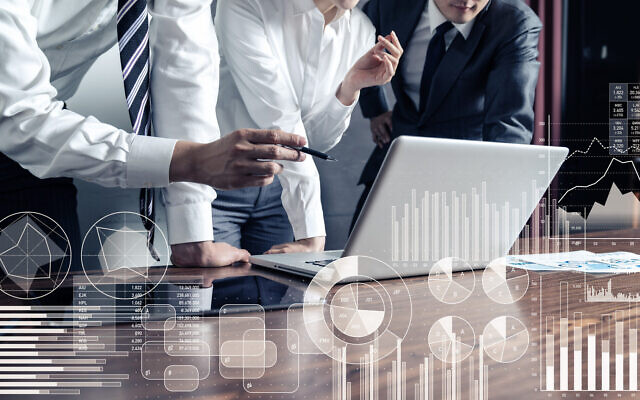 Illustrative image of business and tech (metamorworks; iStock by Getty Images)