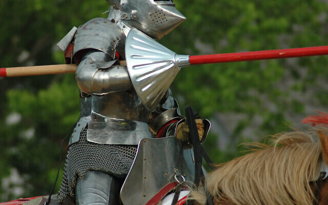An illustration of an armored knight (MalevolentDust; iStock by Getty Images)