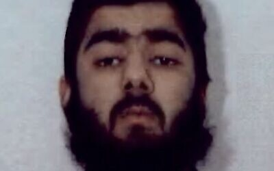 Usman Khan, suspect in a fatal terrorist stabbing spree in London, November 29, 2019. (West Midlands Police)