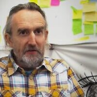Extinction Rebellion co-founder Roger Hallam (YouTube screenshot)