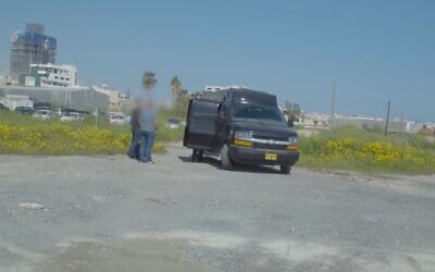 An alleged 'spy van' owned by an Israeli ex-intelligence officer, as featured in a video by Forbes on September 4, 2019 (screenshot: YouTube)