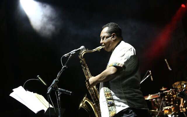 Abatte Barihun will play as part of a trio for the final night of the Hullageb Festival, December 19-24, 2019 (Courtesy Nir Shaanani)