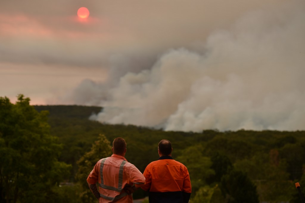 Two firefighters killed battling Australian bushfires