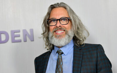 Michael Chabon at the Hammer Museum in Los Angeles, October 14, 2018. (Emma McIntyre/Getty Images for Hammer Museum via JTA)