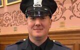 Det. Joseph Seals was slain by gunmen who went on to attack a Jersey City kosher market on Dec. 10, 2019. (Jersey City Police Officers Benevolent Association via JTA)